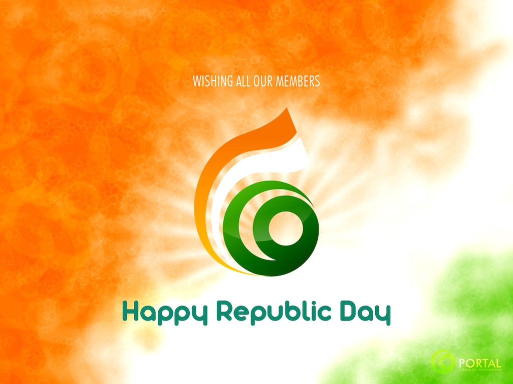 Gandhinagar Portal Wishes Happy Republic Day to all users and Citizens of India.