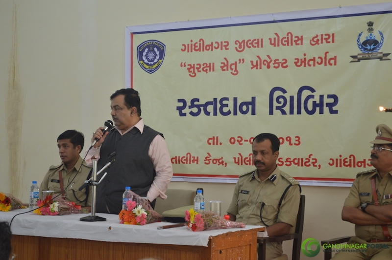 Gandhinagar 49th Birthday Celebration by Gandhinagar Police
