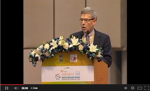 Watch LIVE: Gujarat to host National Education Summit 2014 on 10-11 January