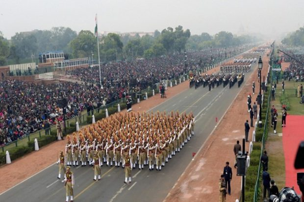 69th Republic Day Celebration: Live from Delhi, India. 26th January 2018